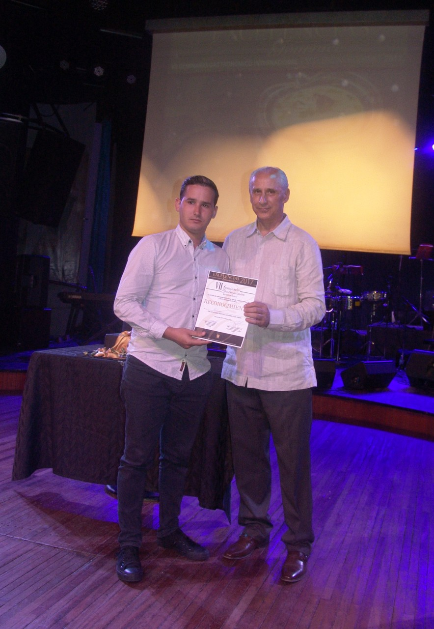 Cuba Ron was rewarded during the celebration of the 20th anniversary of Excelencias