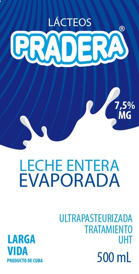 leche entera evaporada 500 ml